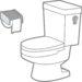 トイレの水が流せない 防露材が原因